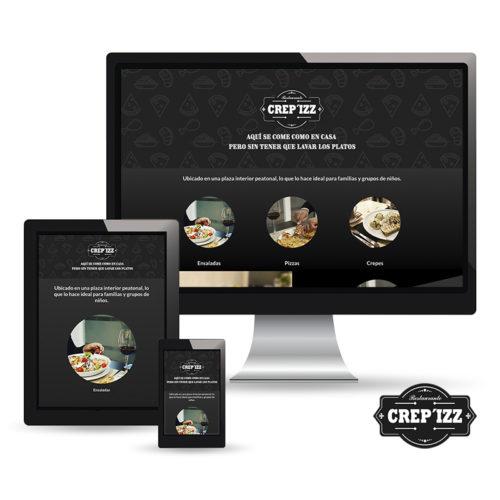 Restaurante Crep'izz - Web