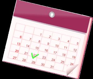 calendario entrada