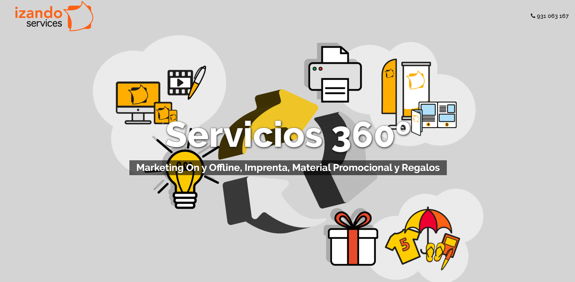 nueva imagen web izando services enero 2020