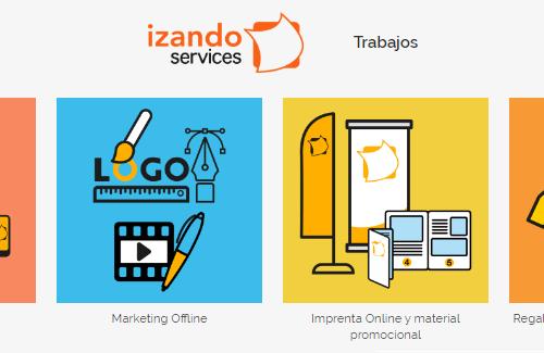 nueva imagen web izando services enero 2020 trabajos
