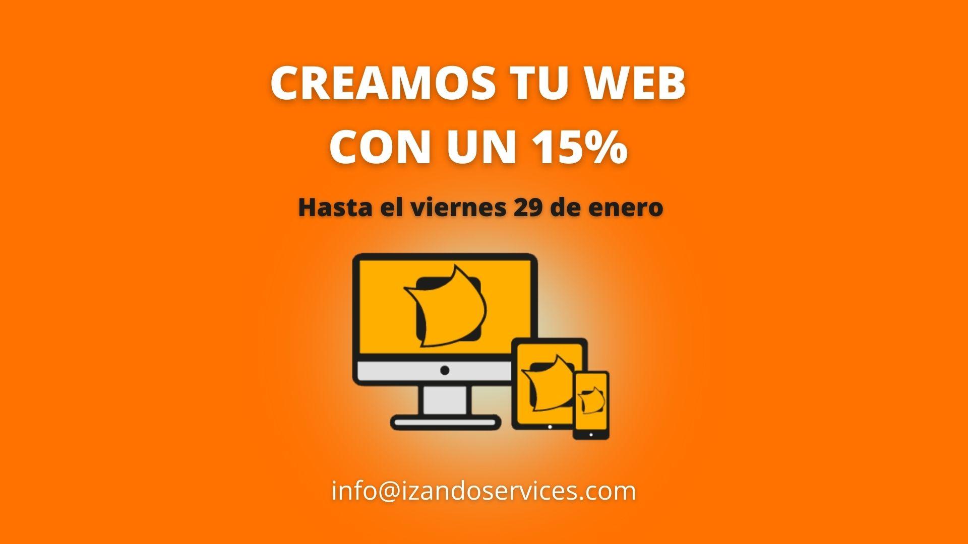 DESCUENTOS CREACIÓN WEB